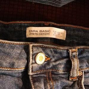 Zara basic denim